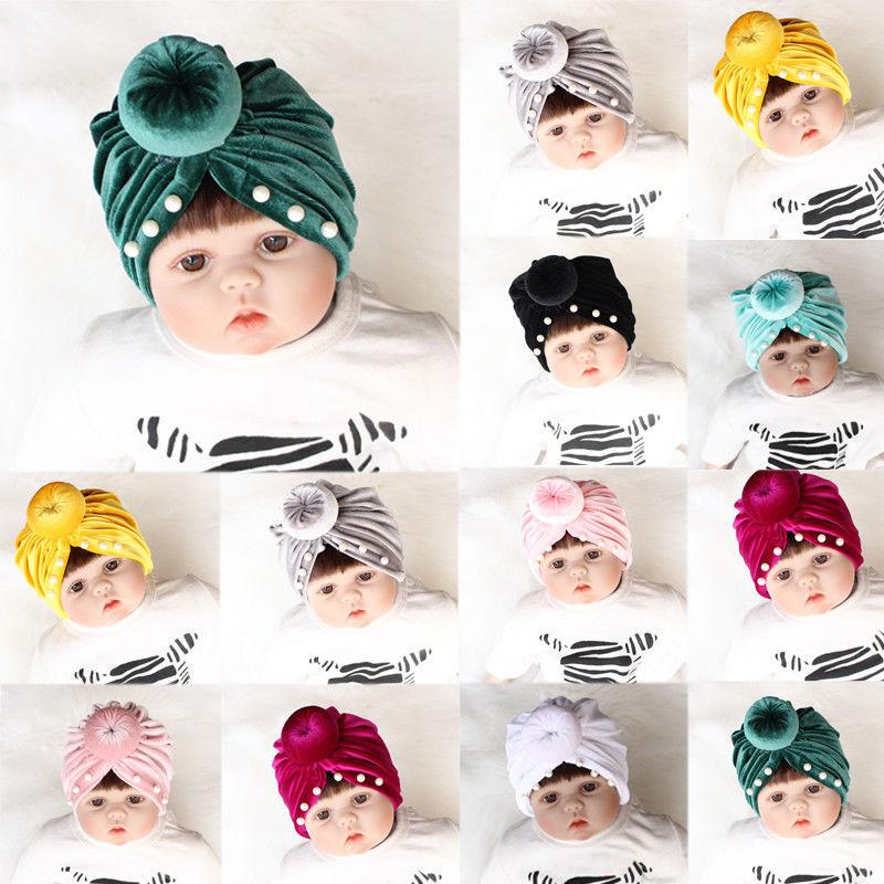 1b4e1e782f6b 2019 2019 Canis Solid Cute Kids Girl Boy Baby Infant Winter Warm Bow ...