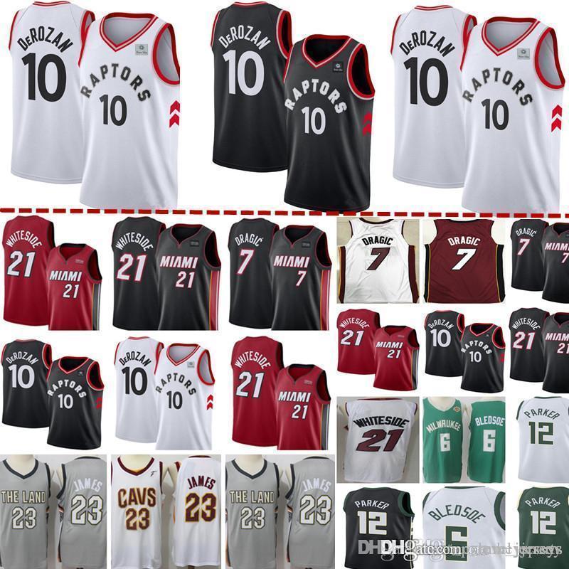 b0eb20565 2019 Toronto New Raptors Jersey Mens 10 Demar DeRozan Basketball ...