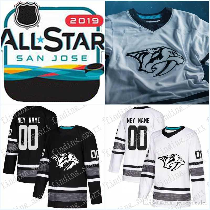 best cheap ae834 43159 Ryan Johansen Men 2019 All Star Game Jersey Nashville Predators Filip  Forsberg Ryan Hartman Pekka Rinne Juuse Saros Hockey Jerseys