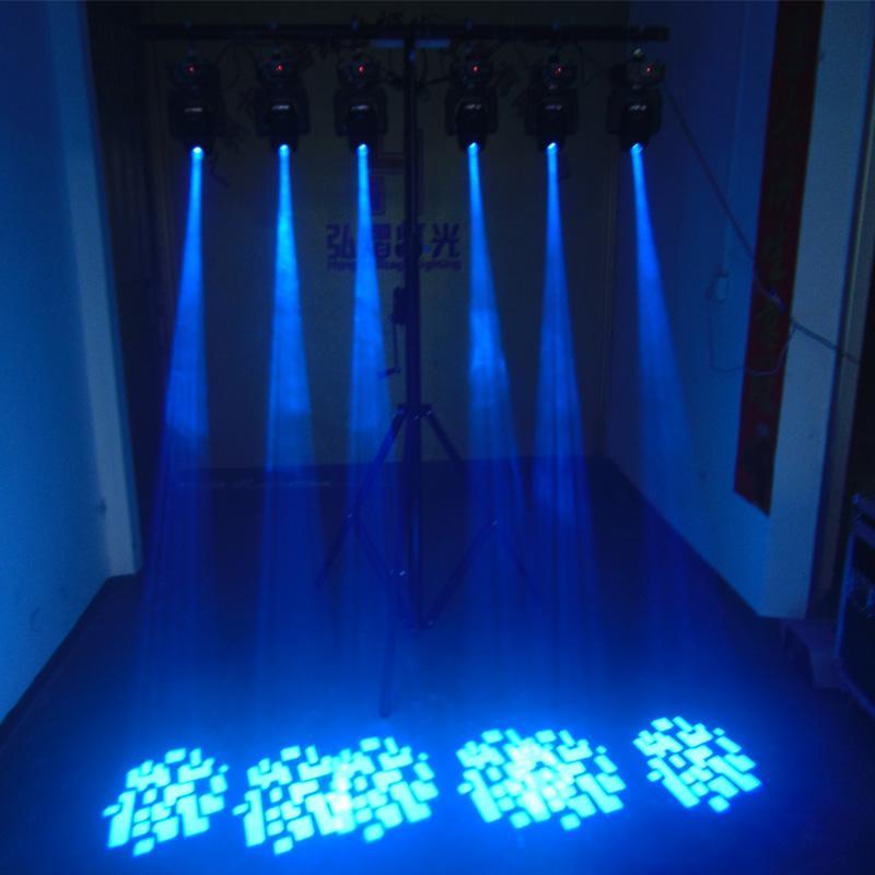 60W Led Mini cabeza móvil Luz DJ Disco Party Música gobo Etapa Efecto de iluminación