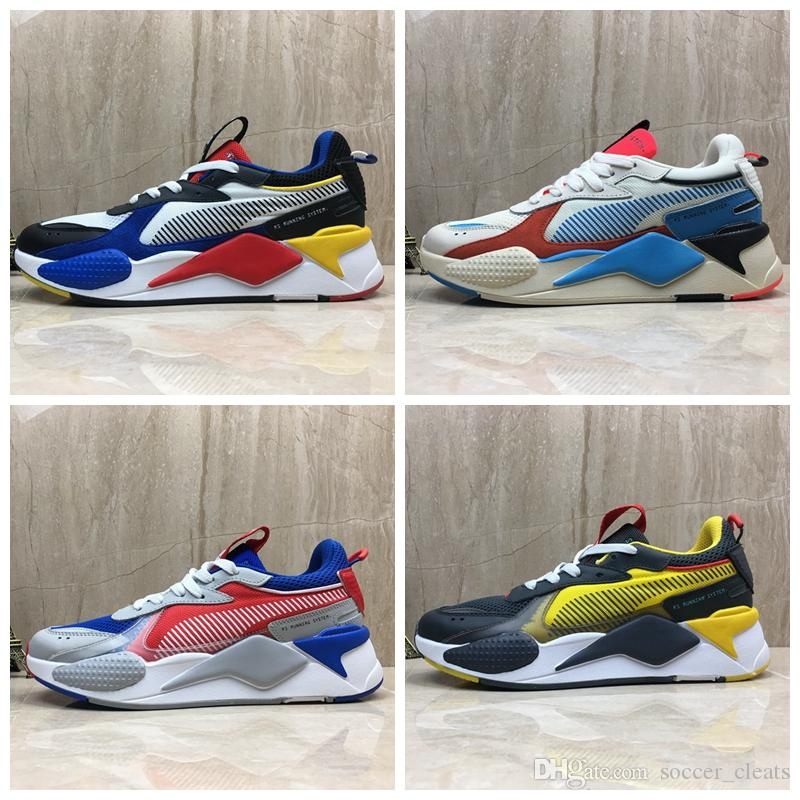 451a7fef10600 2019 2019 New Creepers High Quality RS X Toys Reinvention Shoes Designer  Men Women Hasbro Transformers Casual Sneakers Size 36 45 From  Soccer_cleats, ...
