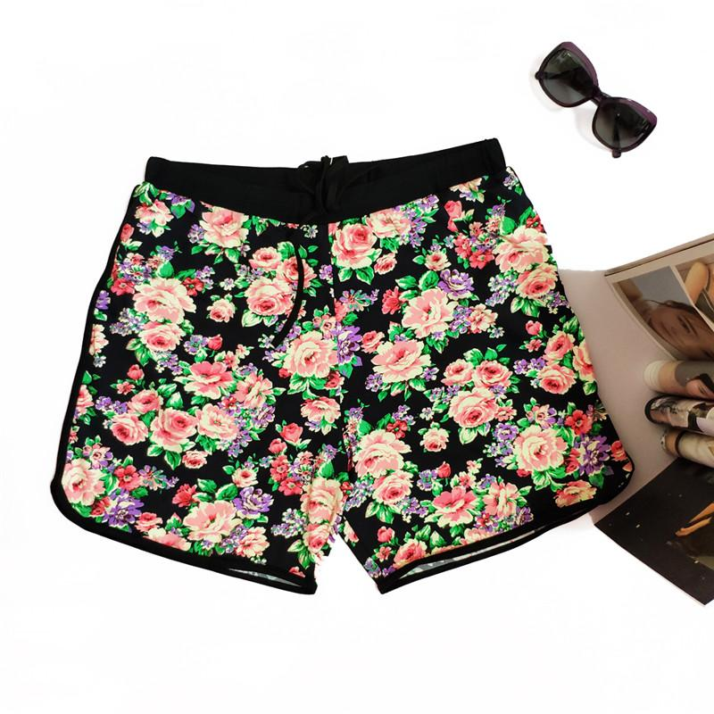 a8544171a7 2019 Men'S Swim Trunk Floral Quick Dry Beach Shorts With Mesh Lining ...