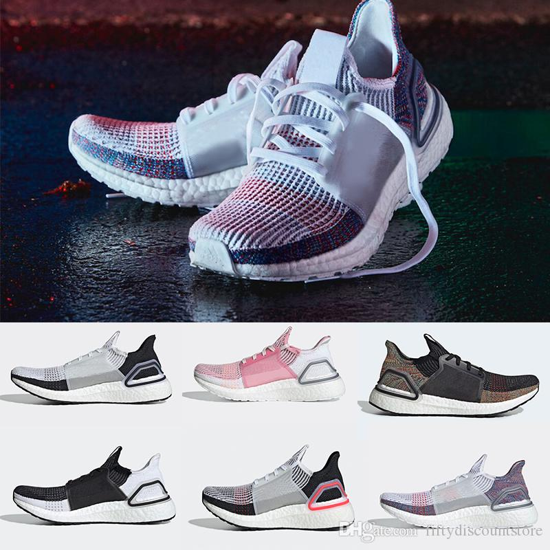 6852b84afa090 2019 New Ultra Boosts 2019 Refract Active Red Dark Pixel Mens Laser Red  Shoes Oreo Ultraboost Uncaged Women Shoes On Running Shoes Best Womens  Running Shoes ...
