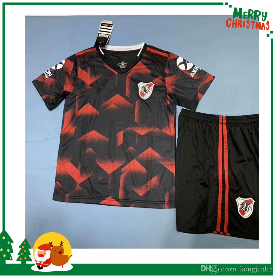 0a26272ab66 2019 Kids Boy Kit 2019 River Plate Soccer Jersey 19 20 Riverbed River Plate  Home Soccer Shirt 2020 Customized Football Uniform Sales From Kongjunlin,  ...