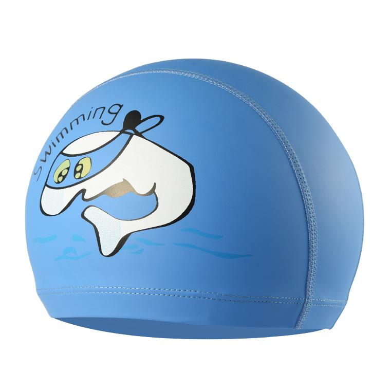 Swimming Caps Kids Children Waterproof Cartoon Cute Swim Cap PU Elastic Swim Pool Hats Long hair Ear Protector Boys Girls