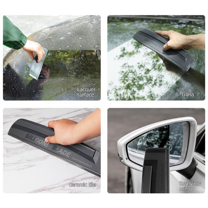 Car Silicone Blade Water Wiper Scraper Squeegee Auto Wash Window Cleaning Tools Soft And Not Hurting The Car Paint For The Body