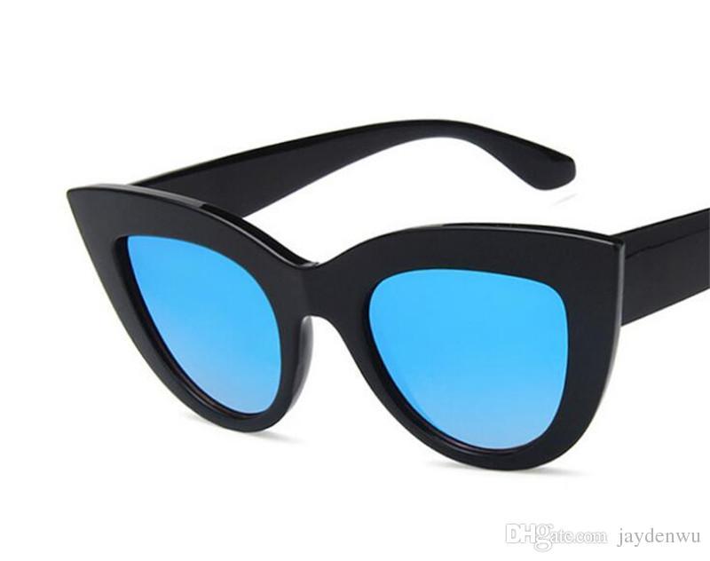 0f831cea42b6 Trendy Retro Cat Eye Sunglasses Trend All Purpose Shades Hot Style  Sunglasses 11 Optional Styles . Cat Eye Frames Eyeglass Frames Online From  Jaydenwu, ...