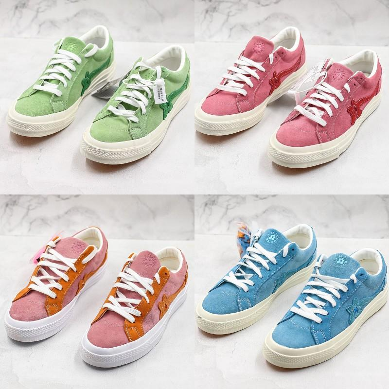 Creator x One Star Ox Golf Le Fleur TTC Jolly Hip Pop Sneaker Conversing Trainer Canvas Shoes For Women Men Skate Shoes