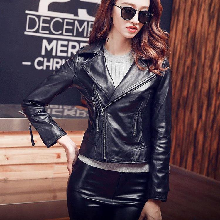 Großhandel Hot Fashion Damen Biker Jacken Mantel Chic Slim Fit Schaffell Echte Lederjacken Kurzmantel D924 Von Alfreld, $223.72 Auf De.Dhgate.Com |
