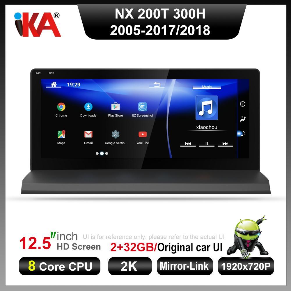 10.25 Display NAVIRIDER Android 9.0 Car Radio WiFi GPS