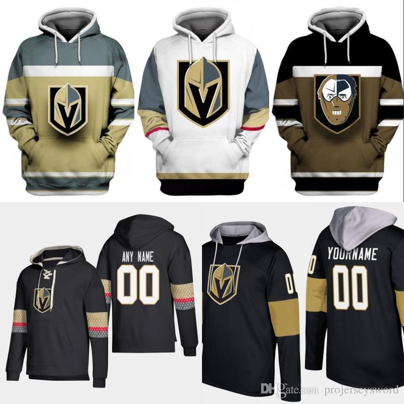 low priced 6a23d 51f5f Vegas Golden Knights Hoodie Jersey Mens 61 Mark Stone 29 Marc-Andre Fleury  71 William Karlsson 56 Erik Haula Ryan Reaves Hockey Jerseys