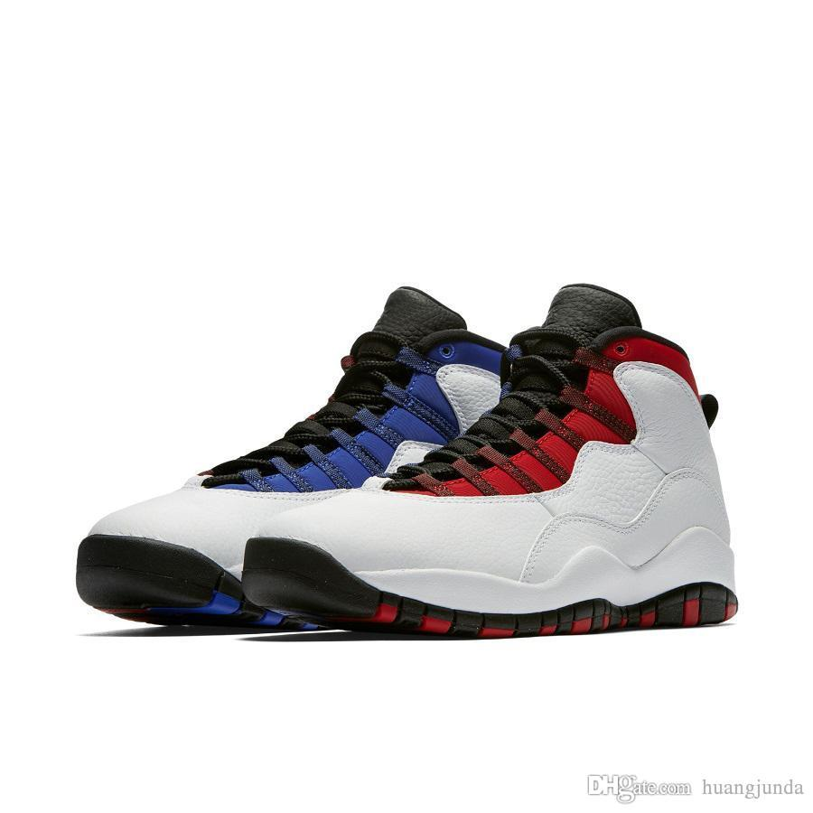 b38d90234f46 2019 Cheap Mens Jumpman 10 X Westbrook Basketball Shoes AJ10 Class Of 2006  I Am Back OVO Black White NYC Chicago 10s Sneakers With Original Box From  ...