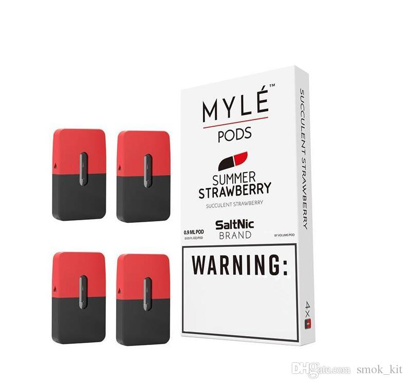 Myle Pods for Myle Vape Starter Kit Battery Device Compatible disposable Pods Cartridges Five Flavors High Quality
