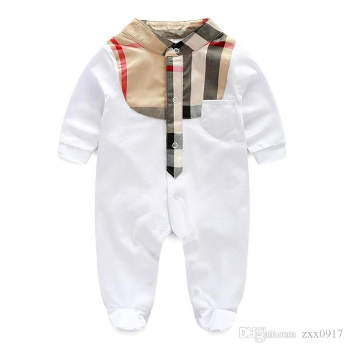 save off ab481 2d90e Neugeborenes Baby Strampler Kleidung Baumwolle Anzüge Infant Overall  Outwear Baby Jungen Overall Kleidung