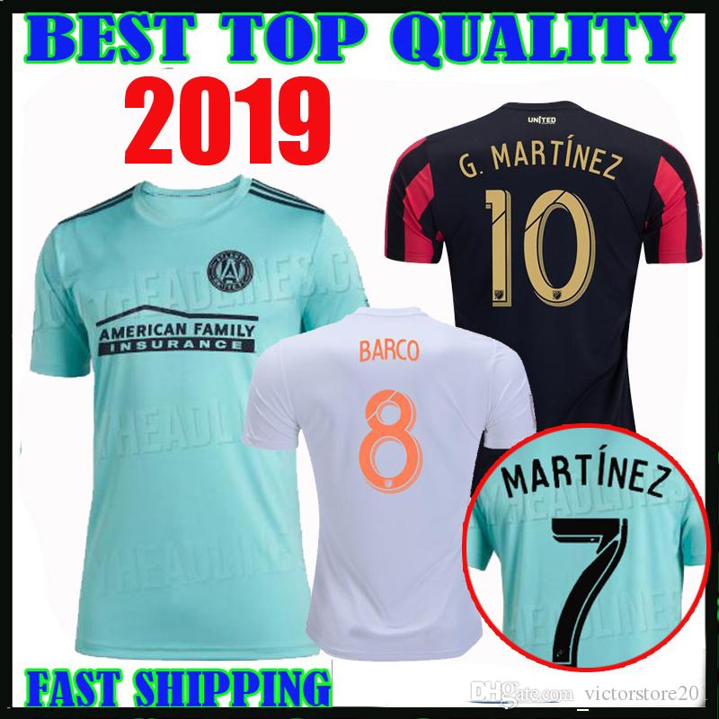 f44957f7387 2019 2019 2020 MLS X Parley Atlanta United Soccer Jersey 19 20 Home Away  G.MARTINEZ MARTINEZ NAGBE BARCO VILLALBA Limited Edition Football Shirts  From ...