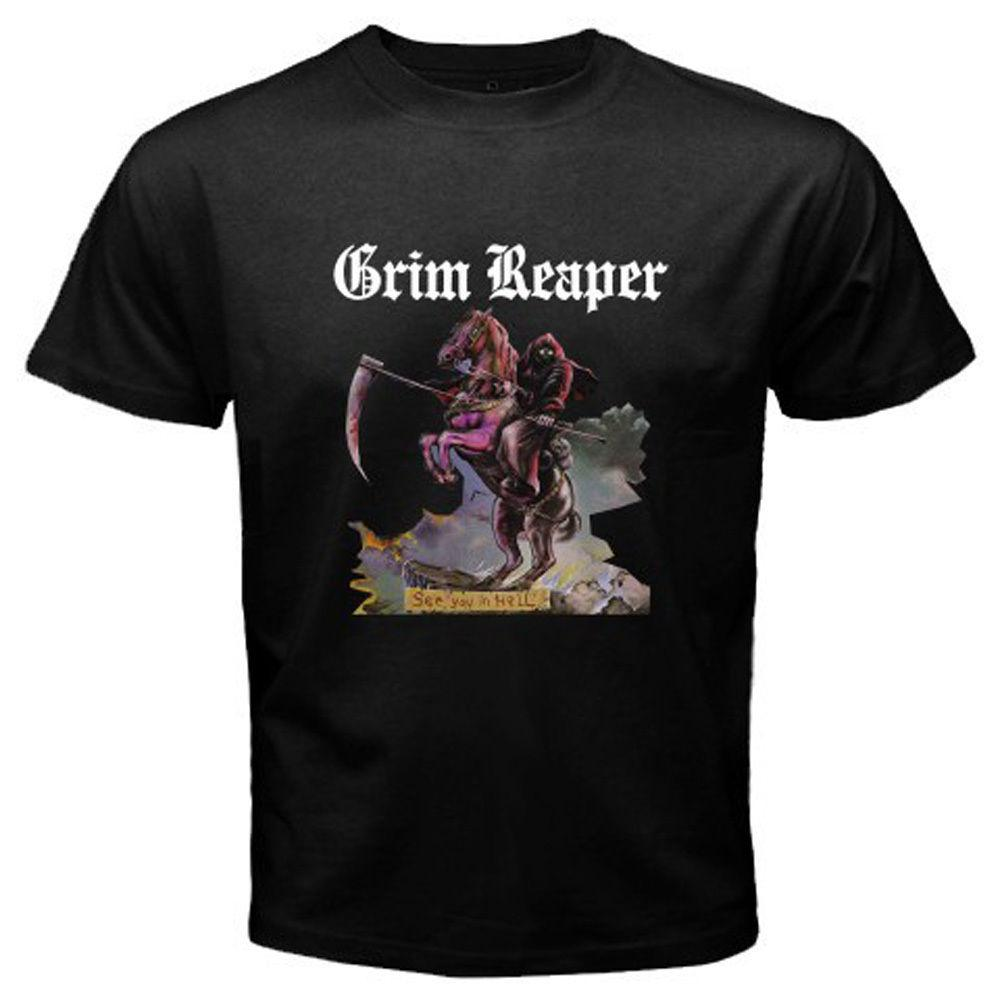 A Protective Ride Of CamisetasHombreGrisMedium Hell Shirt pSzVUM