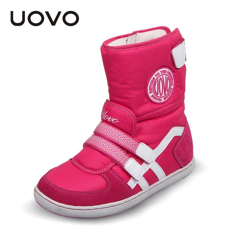 b1d32021 Compre Los Zapatos De Los Niños De La Marca Uovo Caliente Botas De ...