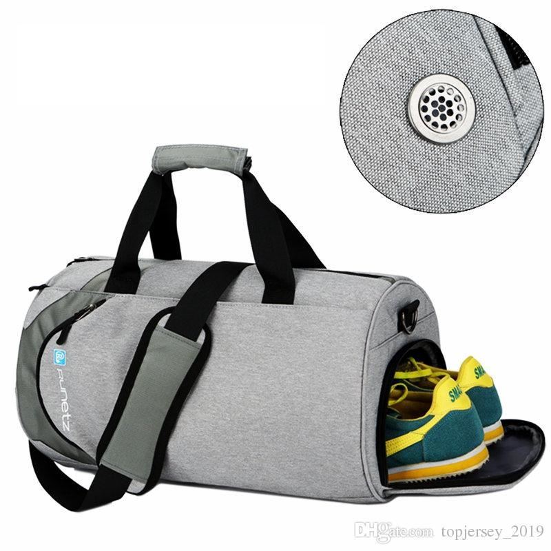 2019 Waterproof Sport Bags Men Large Gym Bag With Shoe Compartment