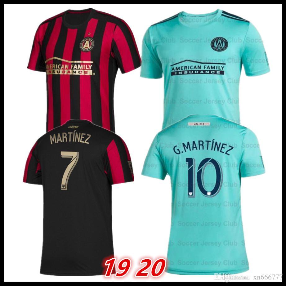 d21c136bbfd 2019 2019 2020 Parley MLS Atlanta United FC Soccer Jersey Football Shirt 19  20 Atlanta United Jerseys MARTINEZ Camisetas Kit Maillot From Xn666777