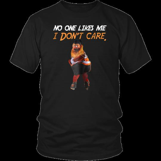 82da661ab53 No One Likes Me I Dont Care Philly Mascot Gritty T Shirt Black Cotton Men M  3XL Fitted Shirts T Shirt Sale From Boystshirts55