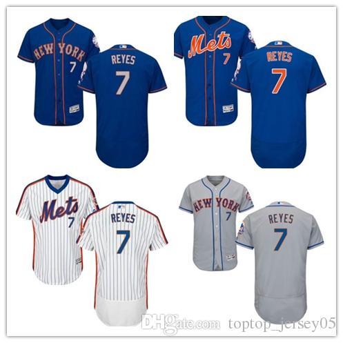 info for f698a 4e5a3 2018 New York Mets Jerseys #7 Jose Reyes Jerseys men#WOMEN#YOUTH#Men s  Baseball Jersey Majestic Stitched Professional sportswear