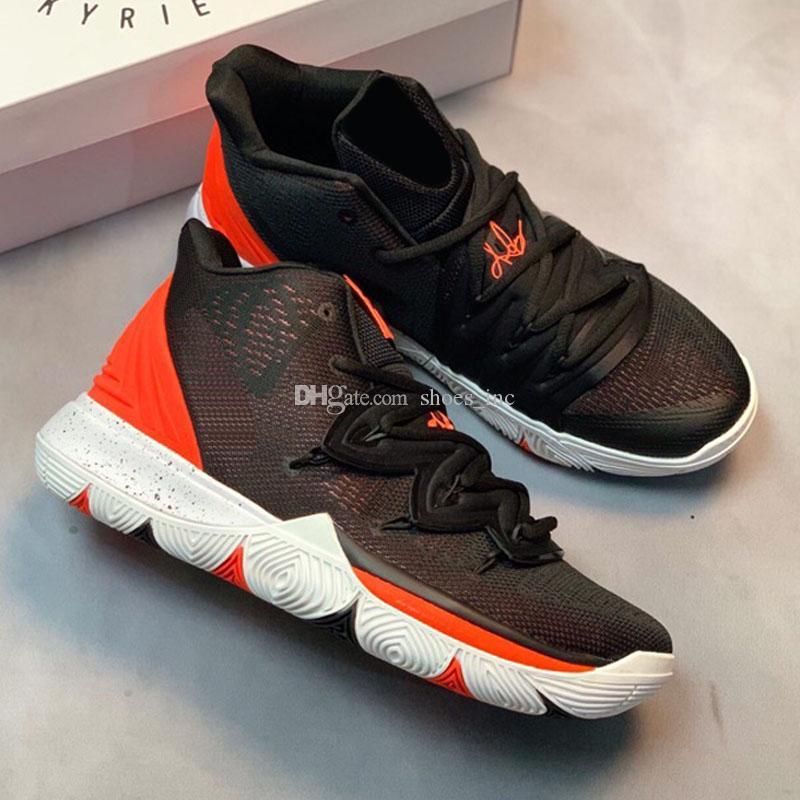 quality design cb27c 5dabb ... V Irving 5 Low Taco Black Magic Multicolor Kyrie Zapatos De Baloncesto  Para Alta Calidad 5s Entrenadores Para Hombre Zapatillas Deportivas Tamaño 40  46 ...