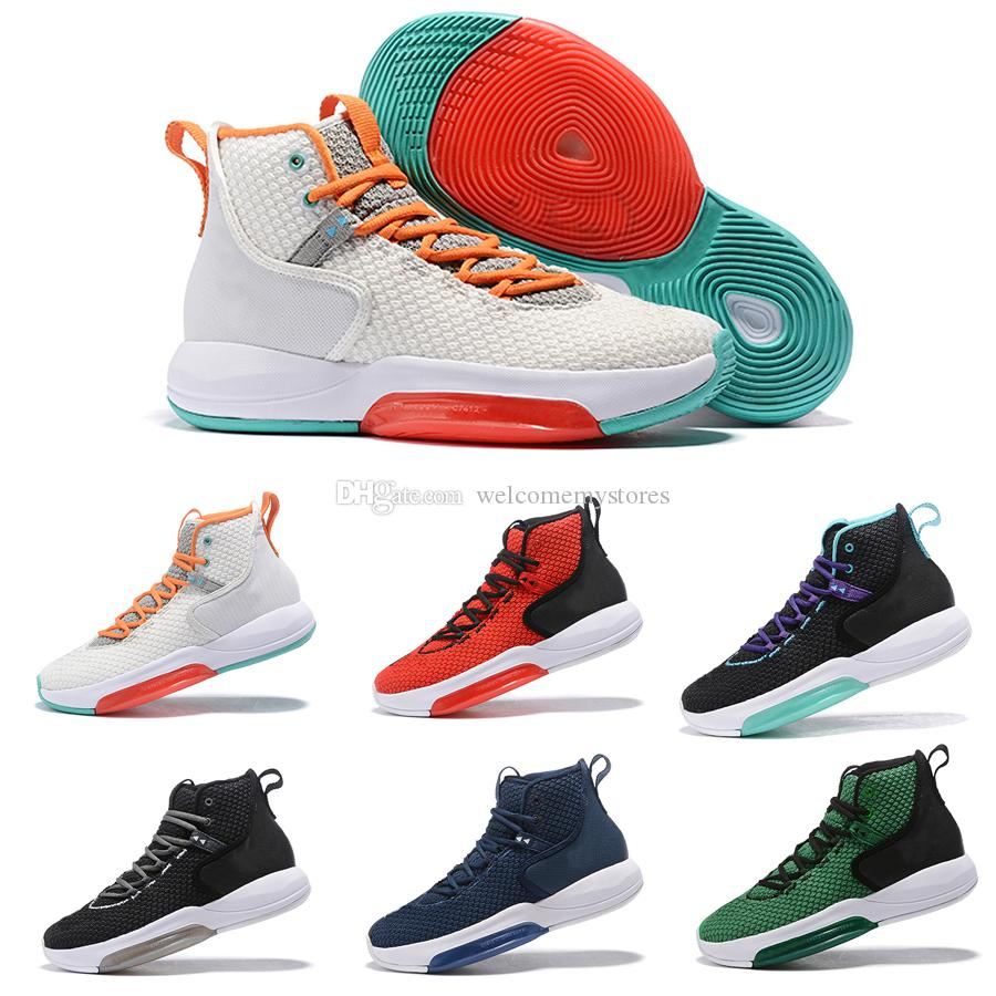 c3ede50dc3f3 2019 2019 Zoom Basketball Shoes Rise Original Designer Sneakers Nite  Outdoor Shoes Jogger Men Rise2019 Size 40 46 From Welcomemystores