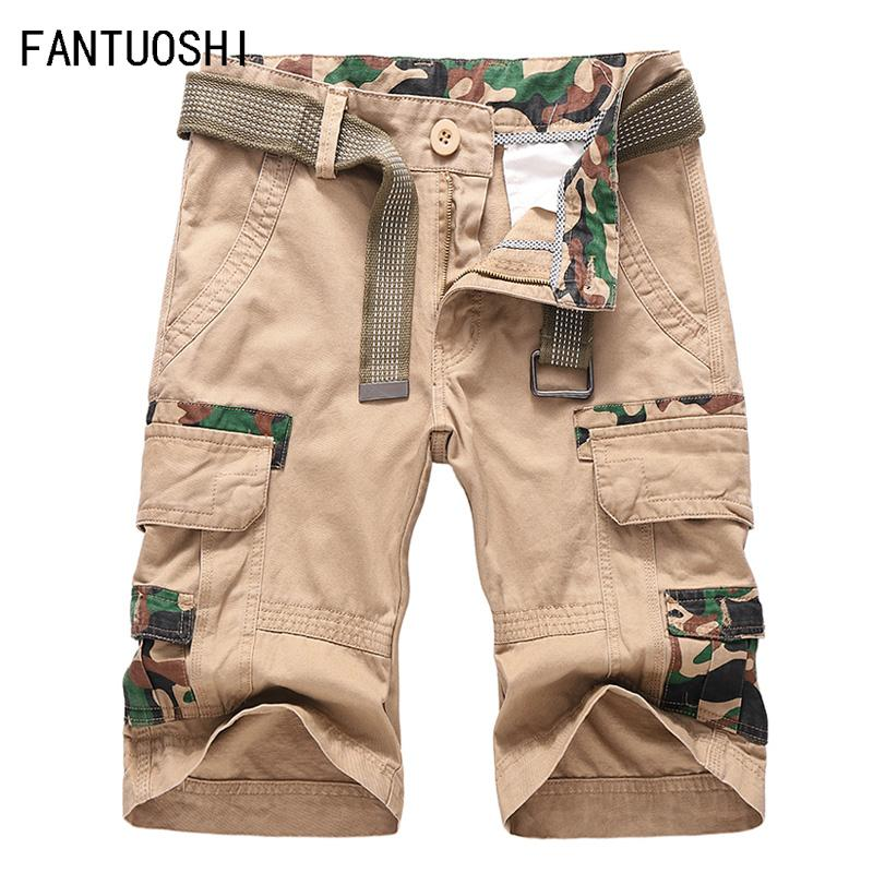 43884cc682 2019 2019 New Cargo Shorts Men Cool Summer Hot Sale Cotton Casual Men Short  Pants Brand Clothing Work Shorts Cargo Size 38 From Undervivi, $48.39 |  DHgate.