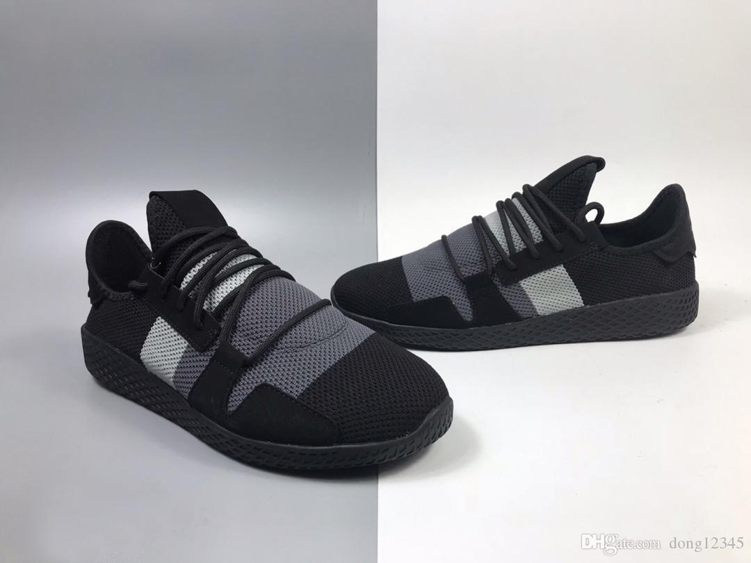 683f70730760c High Quality 2019 New Pharrell Williams Solarhu Tennis V2 Shoes Best Brand  Sports Shoes Men And Women Human Race Outdoor Run Up Sports Shoes Shoe  Shops ...
