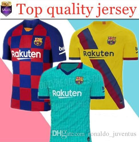 online store d800e f8864 Barcelona 2019 2020 #10 MESSI #7 GRIEZMANN Home soccer jersey 19 20 home  kids away Football kits Sports jersey Customized Uniforms