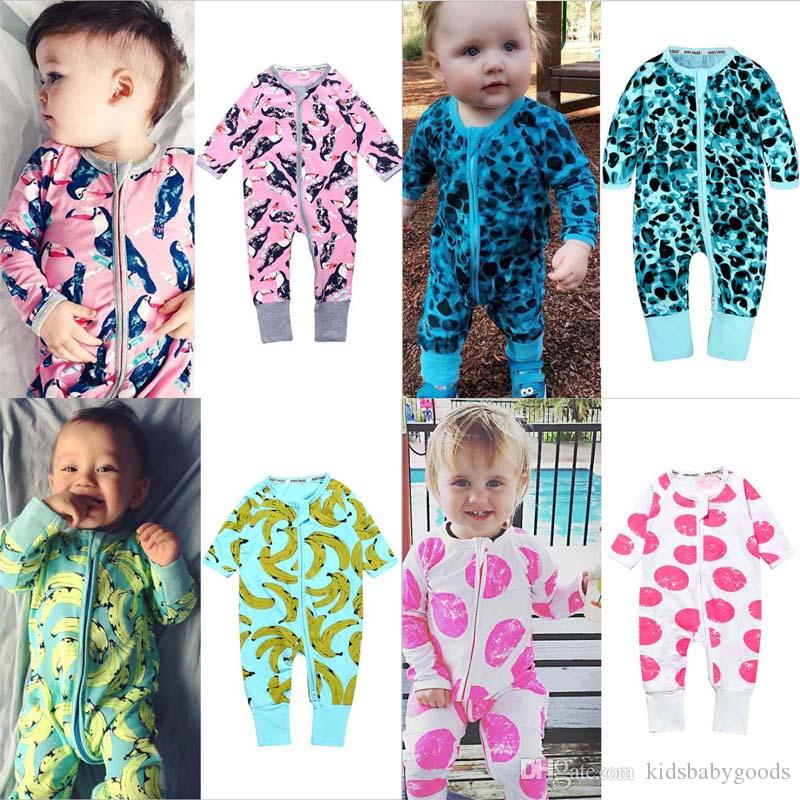 fff520cad5 2019 Spring Autumn Cute Baby Clothes For Sleeping Pajamas Baby Rompers  Bebes Clothes For Little Boys Girls Newborn Overalls From Kidsbabygoods