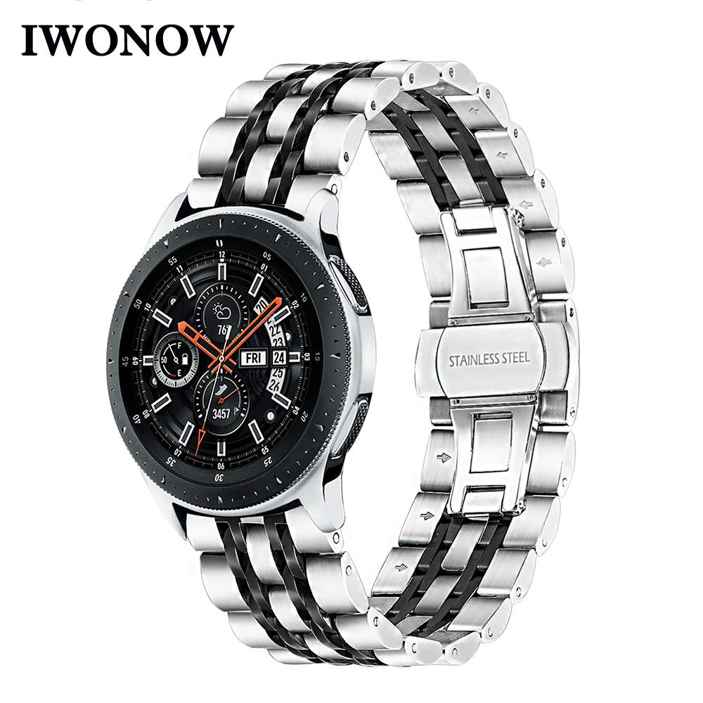 United Luxury Stainless Steel Strap Band 22mm For Samsung Galaxy Watch Sm-r800 46mm Us Buy Now Wristwatch Bands