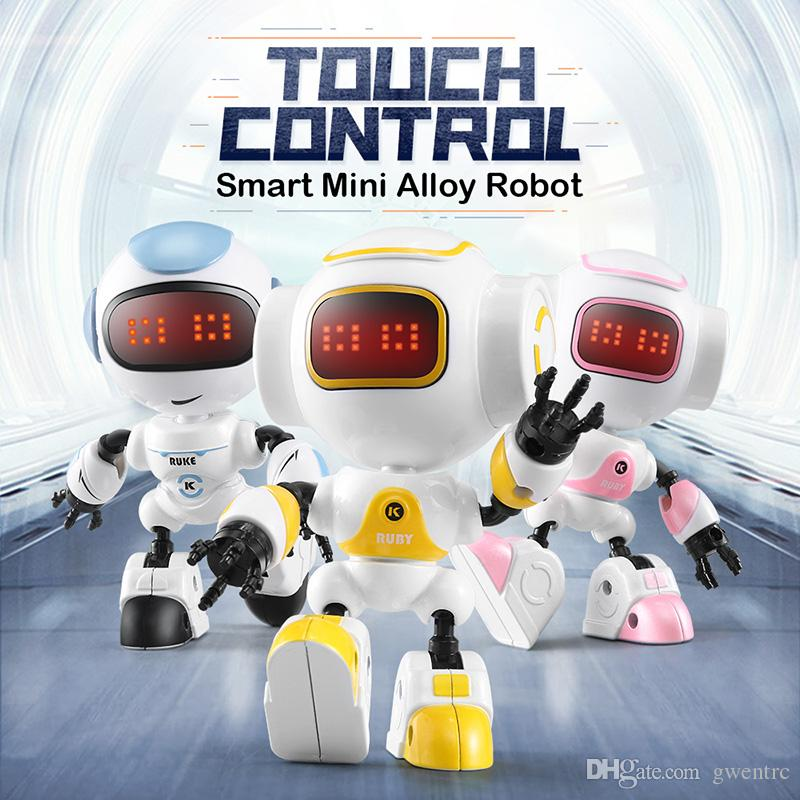 Toys & Hobbies Kids Diy Assembled Smart Robot Infrared Electric Induction Educational Toy Intelligent Model Toys Gift For Children