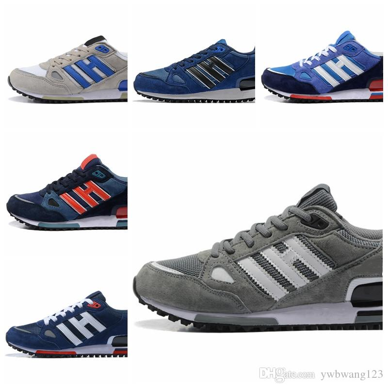 Originals Running Shoes Cheap Fashion Suede Patchwork High Quality Athletic Wholesale zx 750 Breathable Comfortable Trainers Sneakers