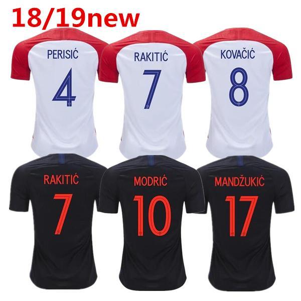ca83740f307 ... Football Source · 2018 World Cup MODRIC MANDZUKIC RAKITIC CroATia Home  Soccer Jerseys