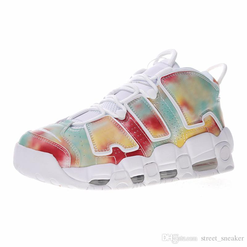 More Og Sneakers Plus Scottie Uptempo 3p Air Respirantes Chaussures Femmes 36 45 Casual Nike LqS35cj4AR