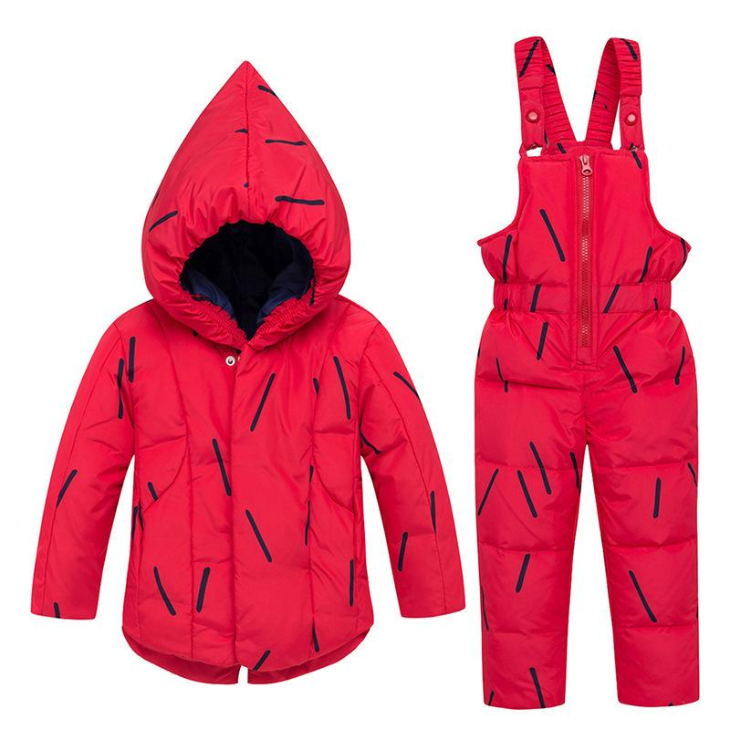 47732a943fe6 2019 HYLKIDHUOSE 2019 Winter Baby Girl Clothing Sets Infant Outdoor ...