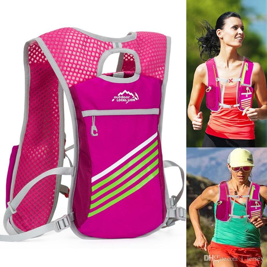 Relojes Y Joyas Able Newboler Running Bags Female Sport Waist Bag With Water Bottle For Walking Camping Gym Belt Bag Men Women Waterproof Fanny Pack Various Styles