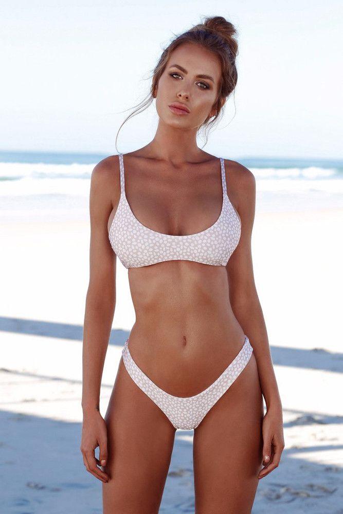 db09e2d5473 2019 ISHOWTIENDA Swimwear Women Bandeau Bandage Bikini Set Push Up  Brazilian Swimwear Beachwear Swimsuit Bikinis Women Push Up From  Ferdinand07, ...