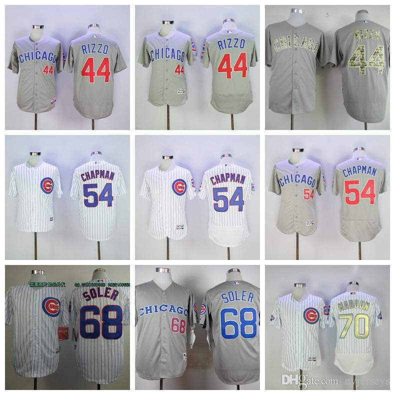 finest selection deb49 98ade 44 Rizzo Chicago Baseball jerseys Cubs Best Jorge 68 Soler selling Jersey  2019 men Aroldis 54 Chapman Joe 70 Maddon