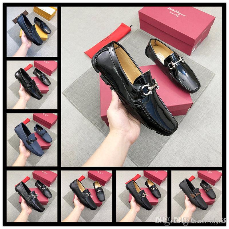 Best Metal 2020 2020 Plus Size Arrival Italian Best Quality Black Men Shoes