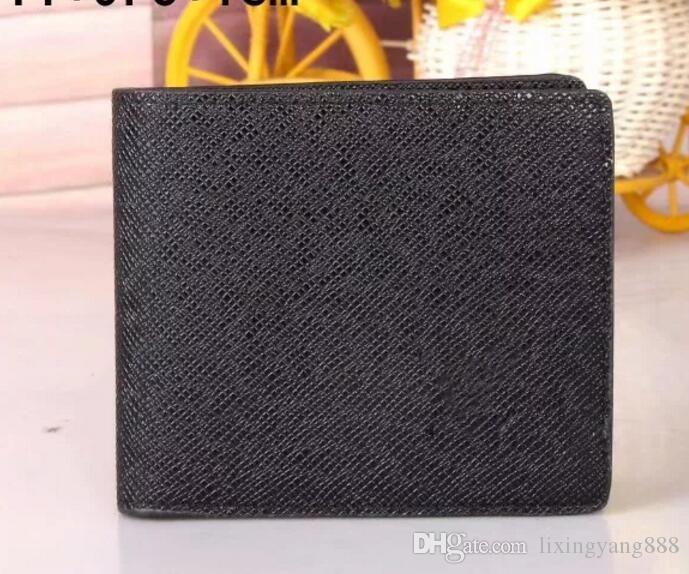 534a91938ab3 NEW Luxury L Wallet Hot Leather Men Wallet Short Wallets Purse Card ...