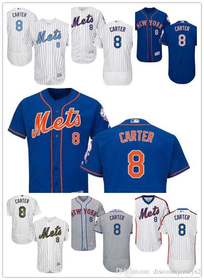 big sale fe653 73f2a 2019 Mets Jerseys #8 Gary Carter Jerseys men#WOMEN#YOUTH#Men s Baseball  Jersey Majestic Stitched Professional sportswear