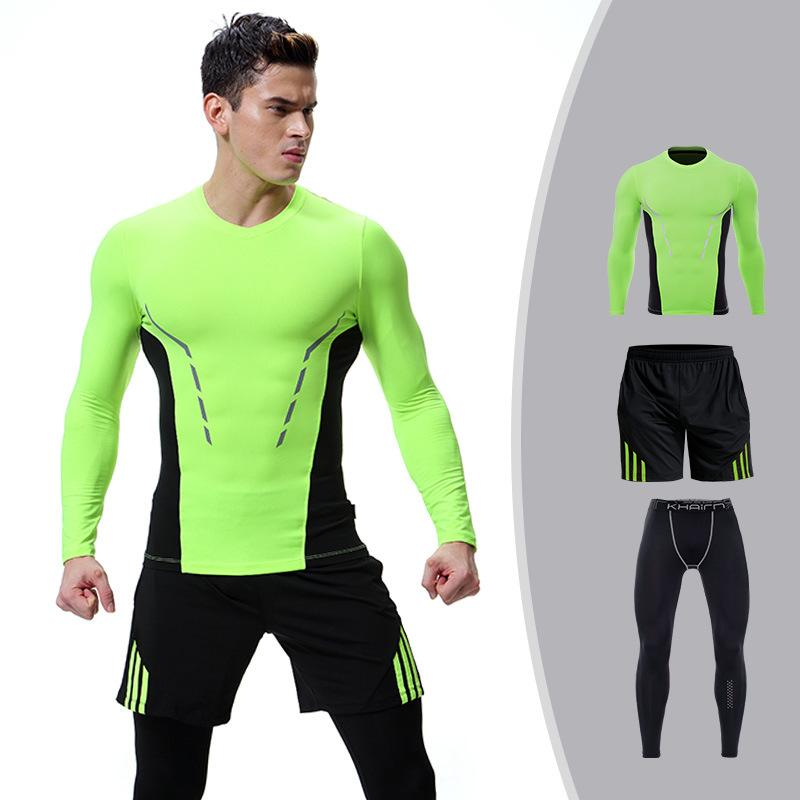 68895128d3b Workout   Training Clothes Men s Gym Clothes Suits Ropa Gym Hombre Mens  Clothing Sportswear Running Clothing for Men Sets XL