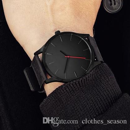 cb4ced91ab2 Relogio Masculino Mens Watches Top Brand Luxury Men Military Sport  Wristwatch Leather Quartz Watch Erkek Saat Military Relogios Online with   24.94 Piece on ...