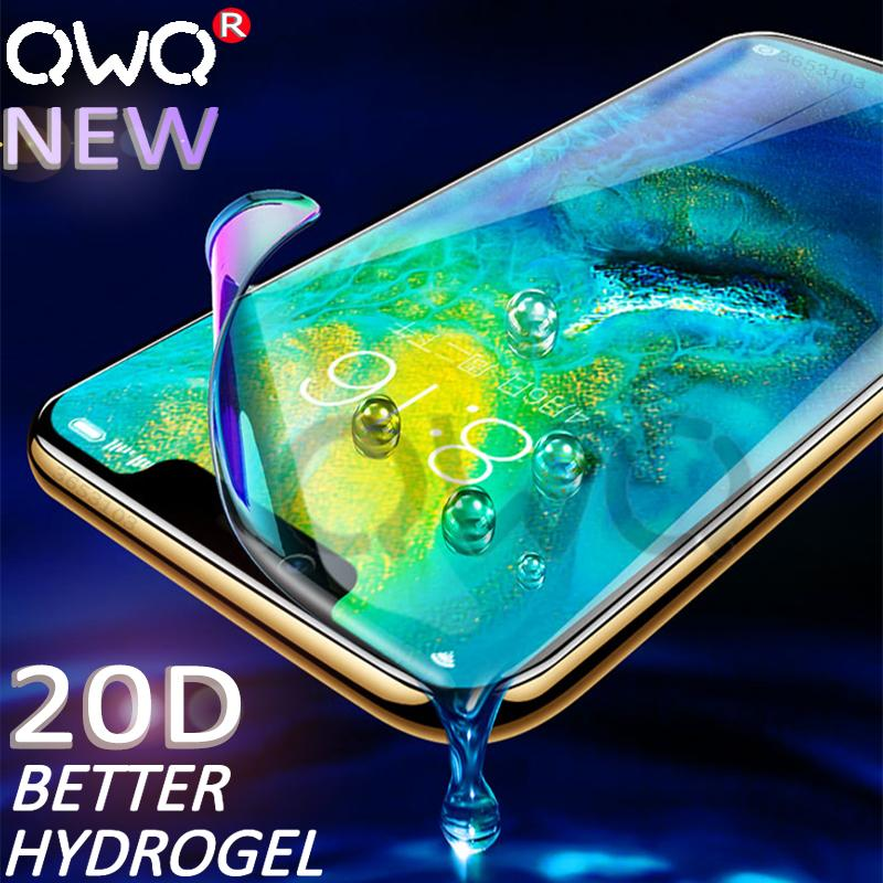 20D Anti blue light hydrogel for huawei p20 p30 P10 mate 20 10 Lite Pro screen protector for huawei p smart 2019 Protective film