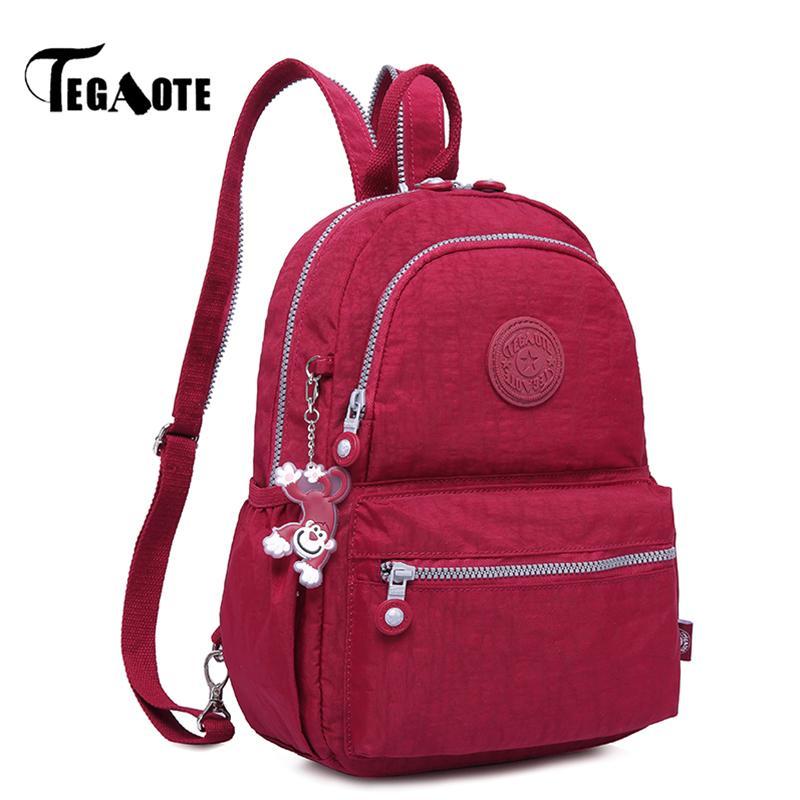 2019 FashionTEGAOTE Small Mini Backpack for Teenage Girl Infantil ... 01dbf67b9b0ea