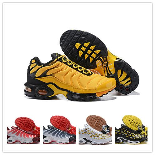 266312ceb9 Mens Mercurial Plus Tn Ultra SE Black White Orange Wmns Plus TN Se Running  Shoes Chaussure Homme Tns Trainers Outdoor Sport Sneakers Stability Running  Shoes ...