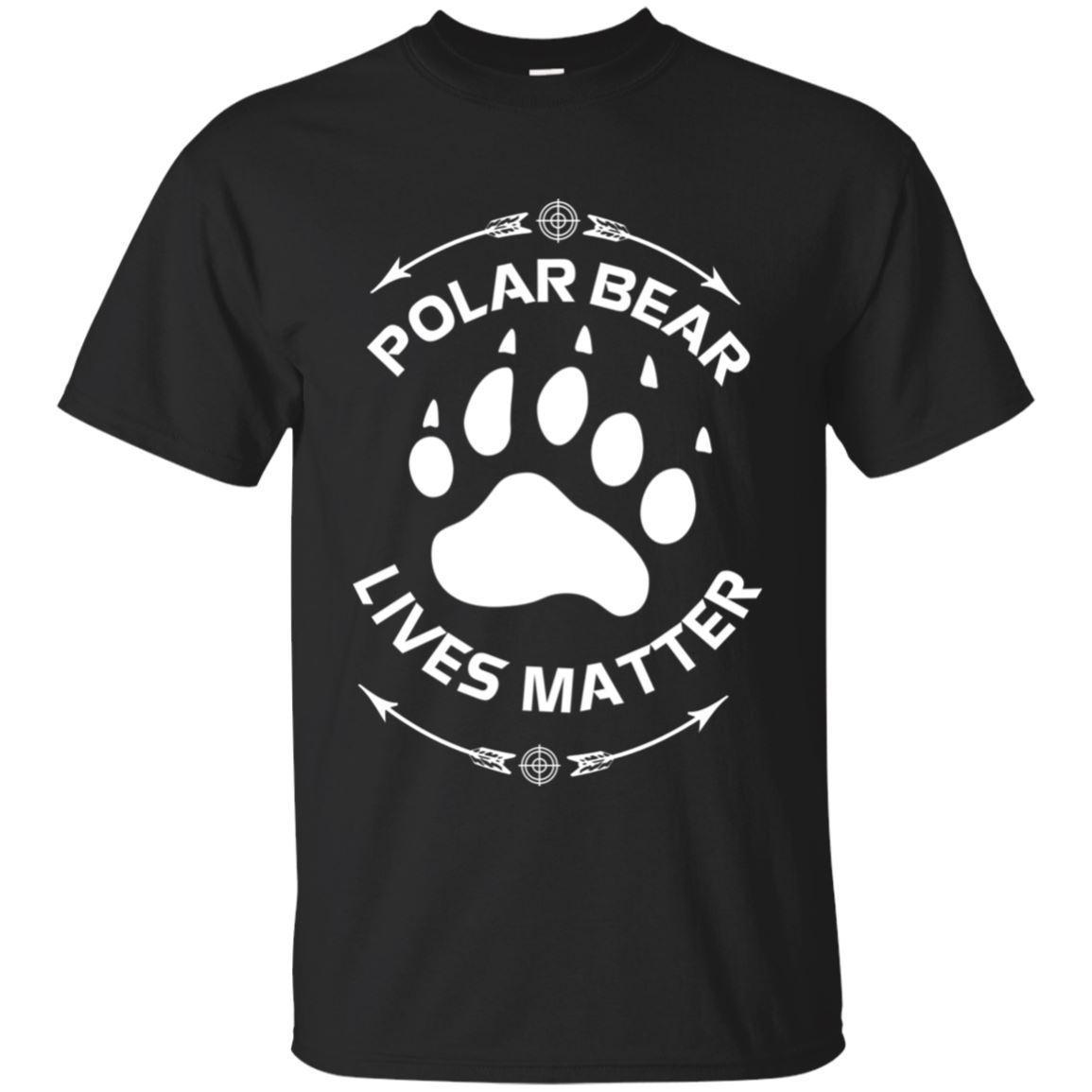 9eba3b68a6c Animal Lover Polar Bear Lives Matter Save The Bears T ShirtFunny Unisex  Casual Tshirt Top Long Sleeve Tee Shirts Design Your Own T Shirts From  Jodeclothes