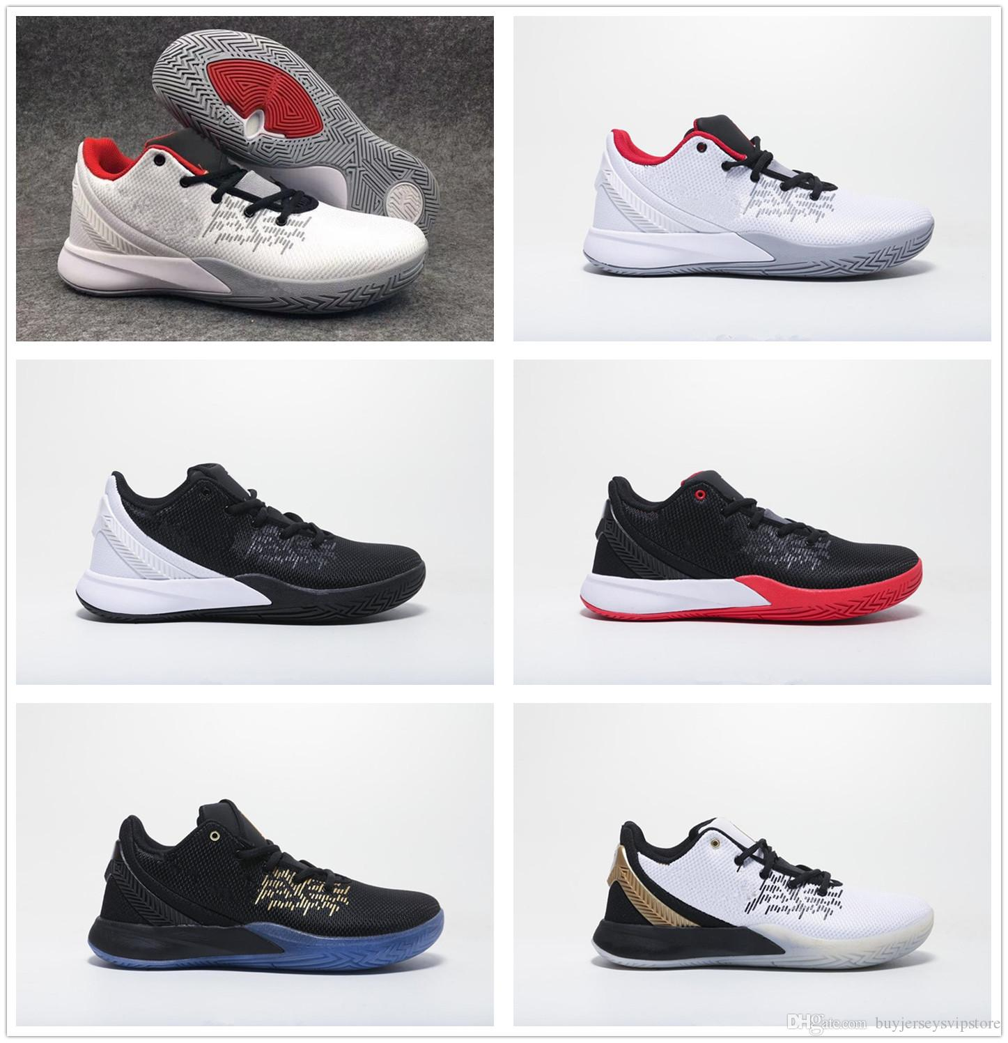 best cheap 9b034 51c28 2019 New Kyrie Flytrap 2 Shoes Irving 2 for Cheap Sale Sneakers Sports  Kyrie Mens Shoes size us7-us12